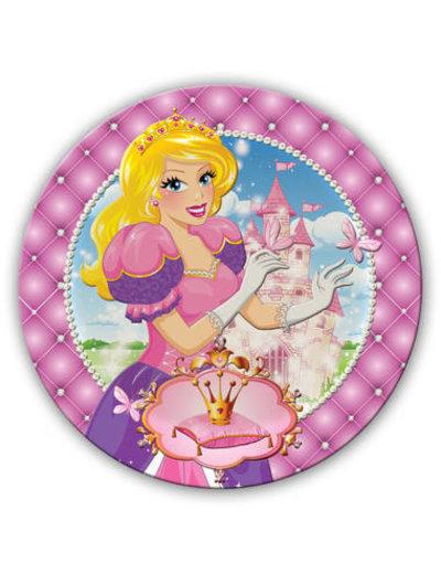 Tafelservies Prinsessen Bordjes - 6stk