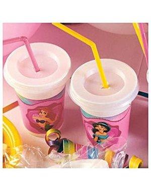 Prinsessen Prinsessen Milkshake Beker - 12stk