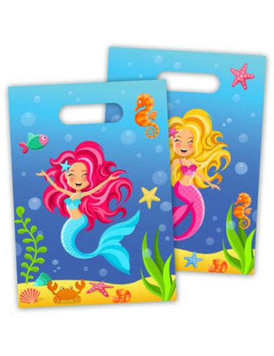 Mermaid Mermaid Traktatiezakjes - 8stk