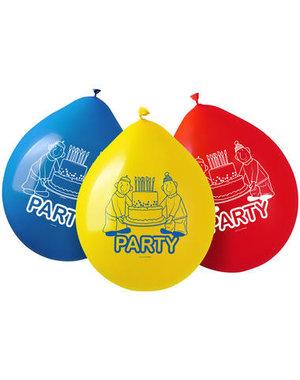 Tafelservies Buurman & Buurman Ballonnen - 8 stk