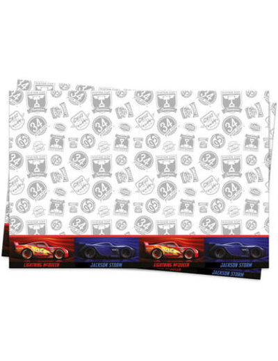 Tafelservies Cars Legendes Tafelkleed - 180x120cm