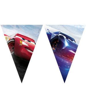 Tafelservies Cars Legendes Vlaggenlijn - 2mtr