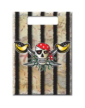 Traktatiezakjes Piraten Traktatiezakjes - 8stk