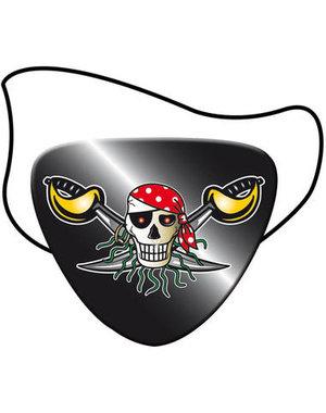 tafelservies Piraten Ooglapjes - 8stk
