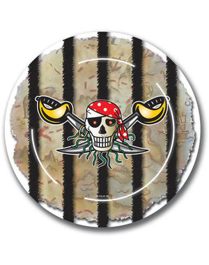 Tafelservies Piraten Bordjes - 8stk