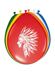 Indianen Ballonnen - 8stk