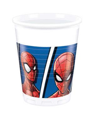 Tafelservies Spiderman Team Bekertjes - 8stk