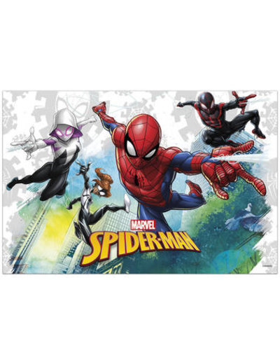Tafelservies Spiderman Team Tafelkleed - 120x180cm
