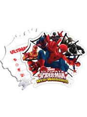 Uitnodigingen Spiderman Warrior Uitnodigingen  - 6stk