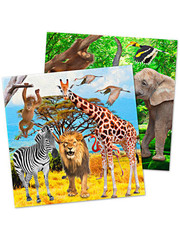 Tafelservies Safari Servetten - 20stk