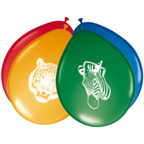 Safari Ballonnen - 8stk