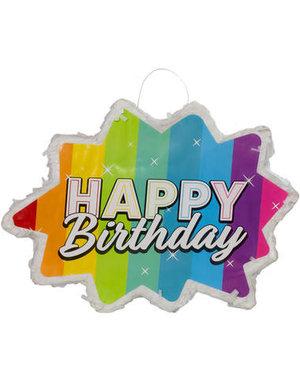 Pinata Pinata Happy Birthday Rainbow