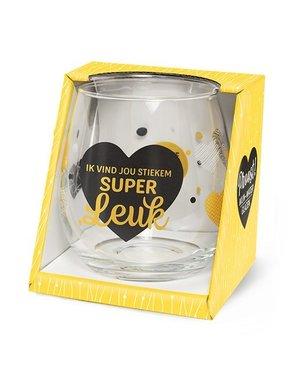 Wijnglazen Wijn/Waterglas - Super Leuk