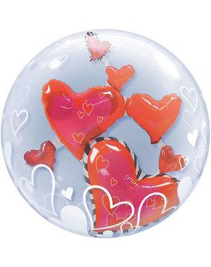 Ballon Bubbles Balloon Hearts