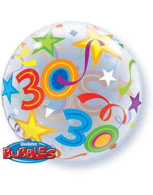 Ballon Bubbles Balloon 30 Jaar