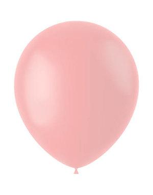 Ballonnen Powder Pink Mat - 10, 50, 100stk