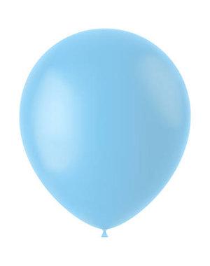 Ballonnen Powder Blue  Mat - 10, 50, 100stk