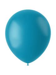 Ballonnen Calm Turquoise Mat - 10, 50, 100st
