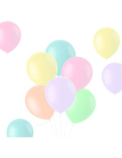 Ballonnen Powder Pastel Mix - 10, 50, 100stk