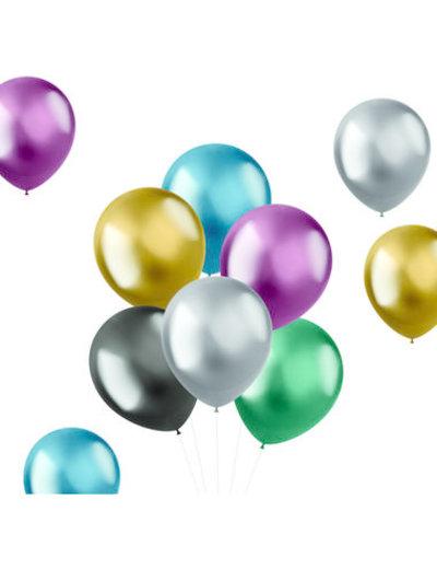 Ballonnen Shine Intense Mix - 10, 50stk