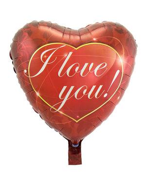 Folieballon Folieballon Hart I Love You Mini - 23cm