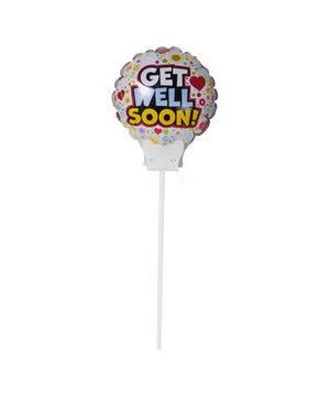 Folieballon Folieballon Get Well Soon Mini - 15cm