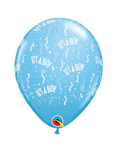 Ballonnen It's a Boy - 50stk  Qualatex