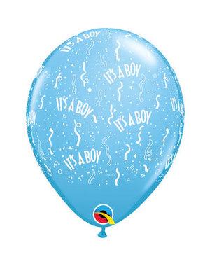 Ballonnen It's a Boy - 50stk  Qualatex