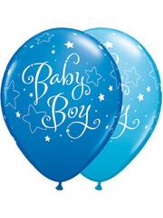 Ballonnen Baby Boy - 25stk  Qualatex