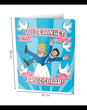Versiering Window Sign - Bruidspaar