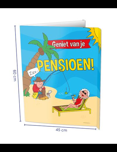 Versiering Window Sign - Pensioen