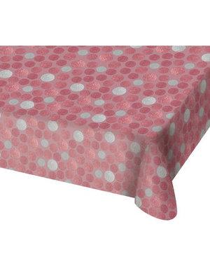 Tafelservies Tafelkleed Glossy Pink - 130x180cm