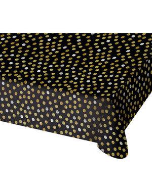 Tafelservies Tafelkleed Glossy Black - 130x180cm