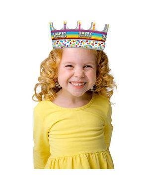 Kroontje Kroon Rainbow Folie