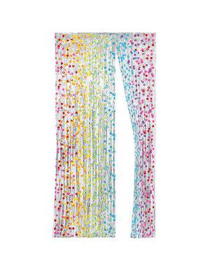 Kroontje Deurgordijn Rainbow Folie