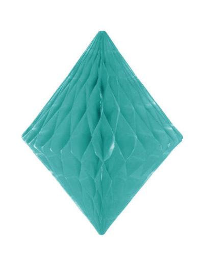 Honeycomb Diamant Mint Groen