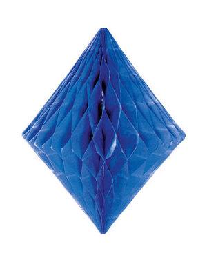Honeycomb Diamant - Blauw