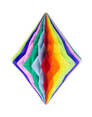 Honeycomb Diamant - Regenboog