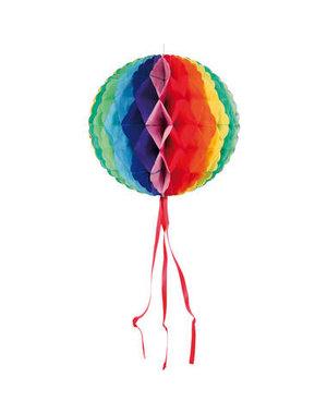 versiering Honeycomb Rainbow Rond - 30cm