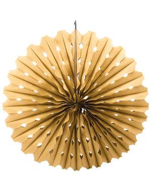 Honeycomb Waaier Goud