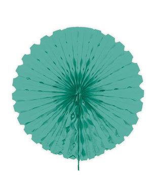 Versiering Honeycomb Waaier Turquoise