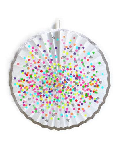 versiering Honeycomb Waaier Confetti Party
