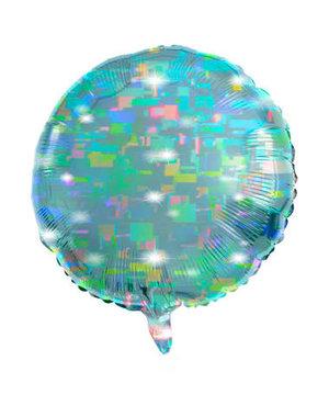 Folieballon Folieballon Galactic Aqua  Rond - 45cm