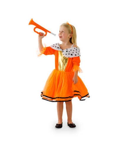 Kostuums Oranje Prinsessenjurk Meisjes - 98 t/m 134