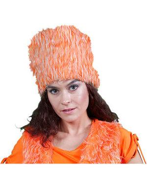 Accessoires Oranje Bontmuts