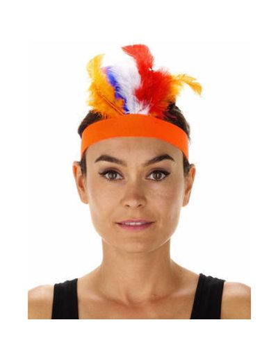 Accessoires Indianentooi Rood/Wit/Blauw/Oranje