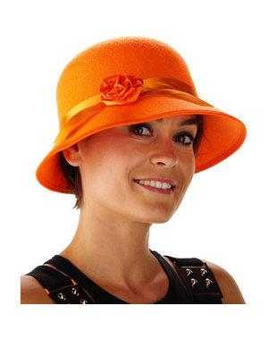 Accessoires Oranje Beatrix Hoed