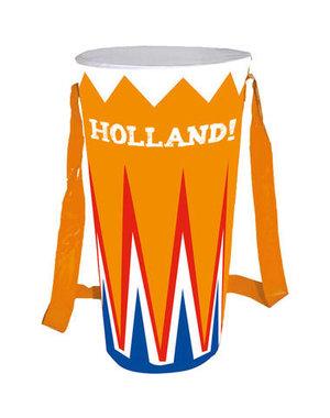 Accessoires Opblaasbare Oranje Drum