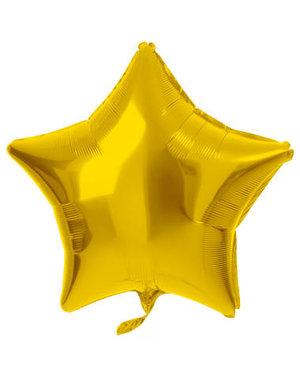 Folieballon Folieballon Ster Goud - 48cm