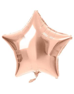 Folieballon Folieballon Rosé Goud - 48cm